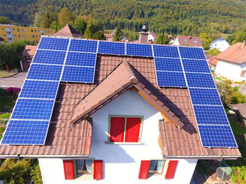 Photovoltaik aufdach